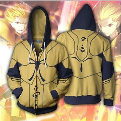 Fate Stay Night Archer Cosplay Anime Kapuzen Sweatshirt Hoodie Pullover - Fate Stay Night Archer Cosplay Kostüm