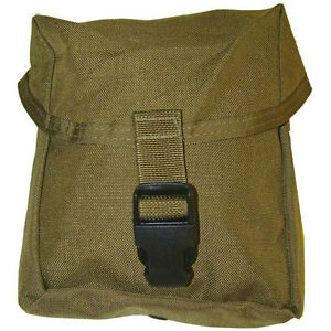 Lot-of-10-IFAK-Pouch-CT-MOLLE-II-New-USMC-coyote-NEW