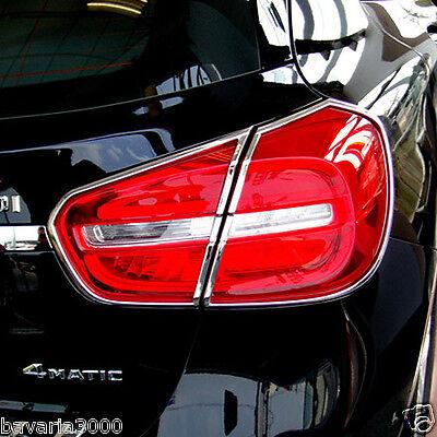 Schätz ® Chrom Rücklicht Rahmen für Mercedes GLA X156 Bj. ab 12.2013