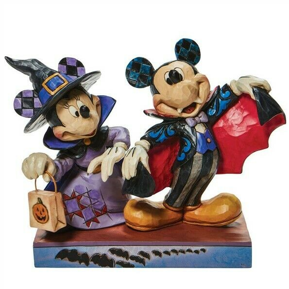 Jim Shore Minnie Witch Vampire Mickey #6008989 BRAND NEW 2021 Free Shipping