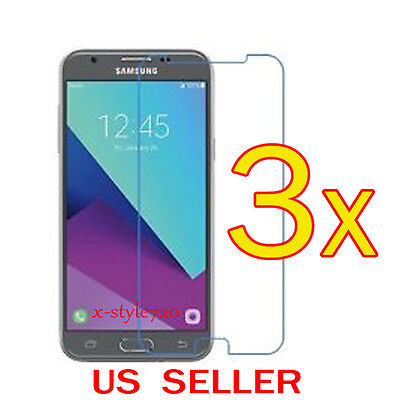 3x Clear Screen Protector Guard Cover Film For Samsung Galaxy J3 Prime (2017) 3 Screen Protector Guard