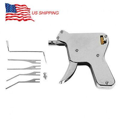 Stainless Steel Practical Unlocking Tools Door Lock Opener for Locksmith USA