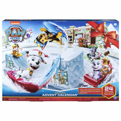 Paw Patrol Advent Calendar - Includes 24 Gifts to Explore-Ages 3+,Expedited Ship