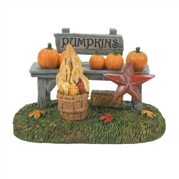 Dept 56 Snow Village Harvest Pumpkin Stand #6007679 BRAND NEW Free Shipping