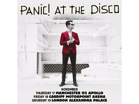 Panic At The Disco - 1x Standing Ticket Cardiff 18th Nov 2016
