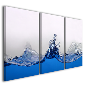 Quadri astratti blouge stampe su tela moderne arte for Stampe quadri astratti