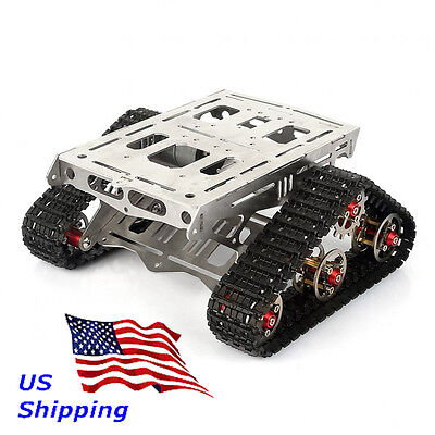 Sainsmart All Metal Robot Tracks Development Platform Fpv For Arduino V3 Us Ship