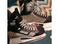 Bauer ice skates (8.5)