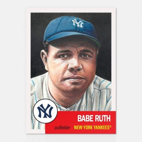 2018 Topps Living Set #100 Babe Ruth New York Yankees