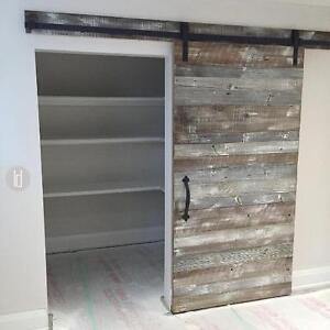 Sliding Modern Barn Style Doors, Hardware & Accessories