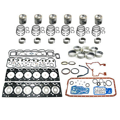 Engine Overhaul Rebuild Kit For Case Cummins 6b5.9 Turbo Charged Turbocharged