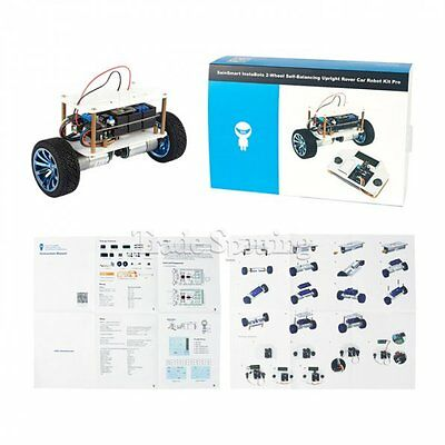New SainSmart InstaBots 2-Wheels Self-Balancing Rover Car Kit V3 for Arduino