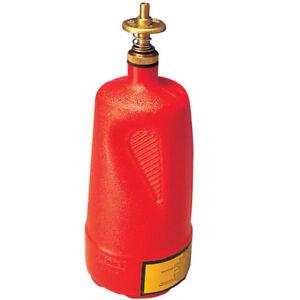 Justrite Dispenser Bottle, 1 Quart - NEW