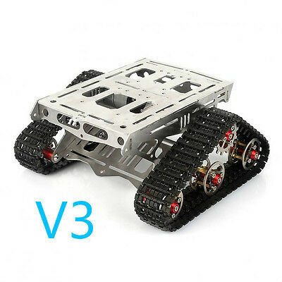 Sainsmart All Metal Robot Tracks Development Platform Fpv For Arduino-rover V3