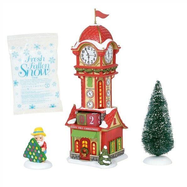 Dept 56 North Pole Christmas Countdown Tower Set 4 6005435 New 2020 Free Ship 28399254460 Ebay