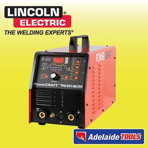 Lincoln Electric Power Craft 201amp Ac/Dc TIG Welder - K69021-4