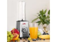 """New - Hometech 300W """"Portable/Personal"""" Blender (Stainless Steel) 600ml"""