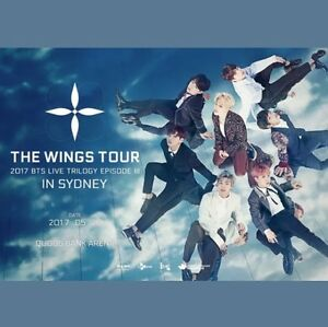 BTS Wings Tour Concert VIP Reedy Creek Gold Coast South Preview