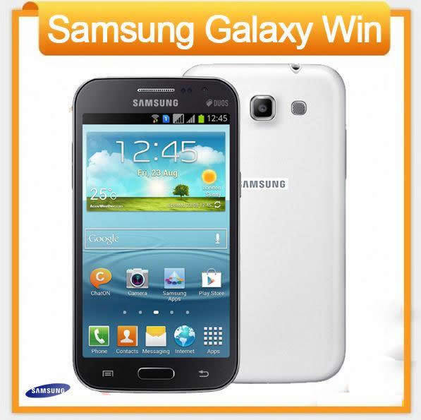 SELLER REFURBISHED ORIGINAL SAMSUNG GALAXY WIN DUOS I8552 DUAL SIM FACTORY UNLOCKED 4GB SMARTPHONE