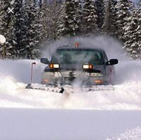 Residential and commercial snow plowing and salting