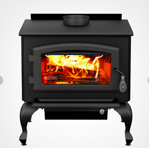 "New in crate. Drolet ""Columbia"" woodstove"