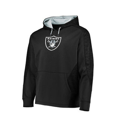 - NFL Oakland Raiders Majestic Men's 2018 Armor Pullover Hoodie - Black