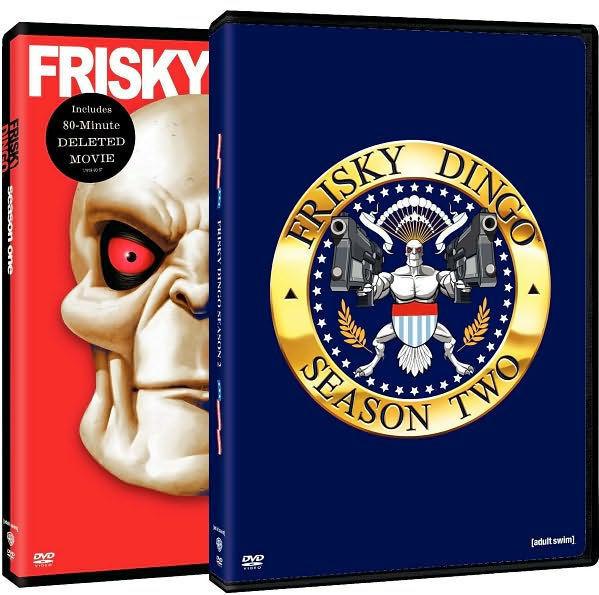 FRISKY DINGO: SEASON ONE & TWO (2PC) / (2PK STD) - DVD - Region 1