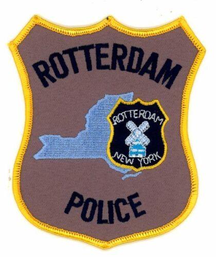 NEW YORK ROTTERDAM POLICE NEW PATCH SHERIFF