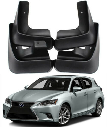 Genuine OEM Splash Guards Mud Guards Mud Flaps FOR 2011-2017 Lexus CT200 CT200h