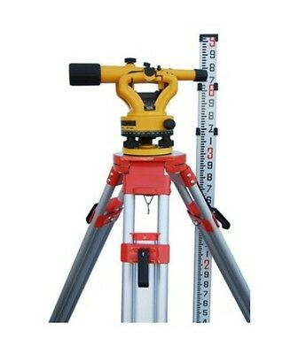 Nslp500b Transit Level With Tripod And 9ft Rod.