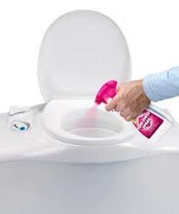 THETFORD Aqua Rinse - Toilettenschüsselspray 500 ml u. 100 Camperbag WC Einlagen