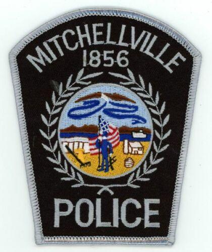 IOWA IA MITCHELLVILLE POLICE NEW SHOULDER PATCH SHERIFF