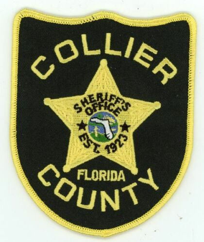 COLLIER COUNTY SHERIFF FLORIDA FL NICE NEW COLORFUL PATCH POLICE