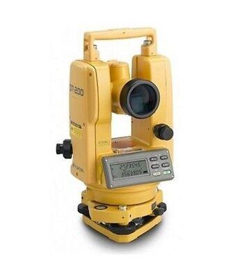 Topcon Dt-200 Series Advanced Digital Theodolite