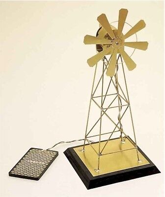 Solar Windmill - Solar Fantasies Demonstrators-Golden Windmill