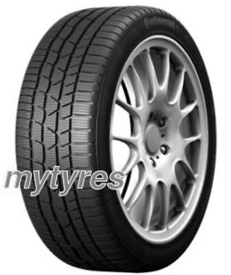 4x WINTER TYRES Continental ContiWinterContact TS 830P 205/50 R17 93H XL BSW wit