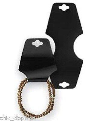 100 Black Bracelet Cards Necklace Cards Plain Jewelry Cards Jewelry Display Card