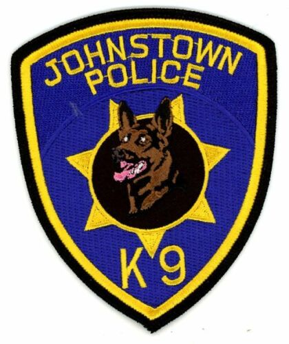 JOHNSTOWN POLICE K-9 PENNSYLVANIA PA NICE NEW COLORFUL PATCH SHERIFF