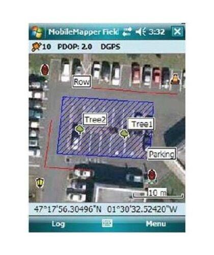 Spectra mobilemapper field software for MobileMapper 50