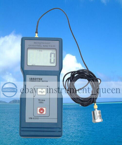 LANDTEK VM6310 Digital Vibration Meter Tester Vibrometer Gauge