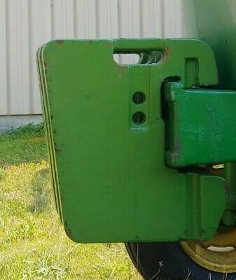John Deere Front Tractor Weight Approximately 100 Lbs Only One Part 4012