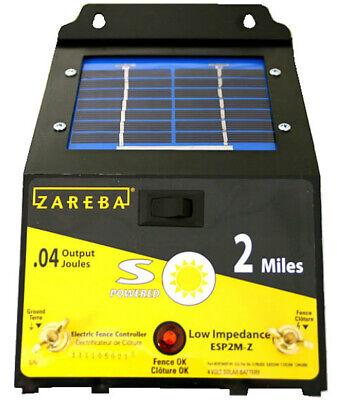 Zareba Esp2m-z 2 Mile Solar Fence Charger 2 Mile