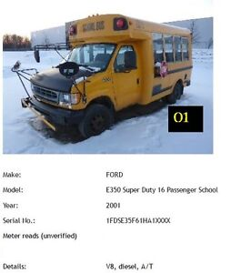 Used Trucks and School Bus for Sale