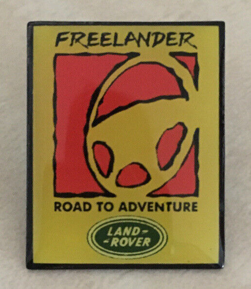 Land Rover Freelander Road To Adventure Lapel Hat Pin New Old Stock