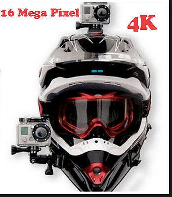 Super Ski Snow Boarding Helmet Action Camera 4K WiFi Full HD Free 32 GB SD Card