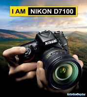 LOOKING FOR A NIKON D7100 OR D5200