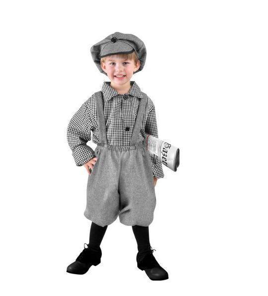 Newsboy Costume