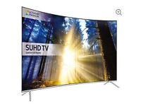 "65"" Curved SAMSUNG LED TV Smart 4k Ultra HD HDR 65KS7500 Reduced couple of cosmetic marks"