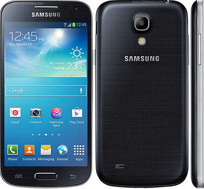 New Unlocked Samsung Galaxy S4 Mini GT-I9195 8MP 4G LTE 8MP GPS Smartphone Black for sale  Shipping to Canada