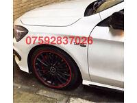 Alloy wheel guard Corsa Astra SRI VXR CDTI Golf Polo Lupo GTI VR6 V5 R32 TDI GT UP FR Leon Ibiza